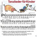 Tanzlieder für Kinder: Fidula-CD mit 12 Titeln: Ponypferdchen /Tanz, Maruschka /Bella Bimba /Aprite le porte /Pfeifer Tim /Sascha /Maccaroni /Buenos … die Türe. Mit Noten und Tanzbeschreibungen