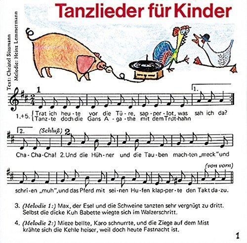 61yDD9w+uoL - Tanzlieder für Kinder: Fidula-CD mit 12 Titeln: Ponypferdchen /Tanz, Maruschka /Bella Bimba /Aprite le porte /Pfeifer Tim /Sascha /Maccaroni /Buenos ... die Türe. Mit Noten und Tanzbeschreibungen