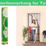 Lamellen Vorhang Fliegengitter Türe Tür bis 125×240 cm anthrazit